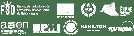 Acreditaciones internacionales Maestrías - Cursos Online